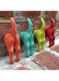Warm Design Köpek Kuyruğu Duvar Askılı Mavi
